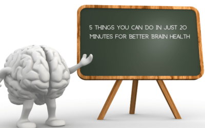 20 Minutes to Better Brain Health